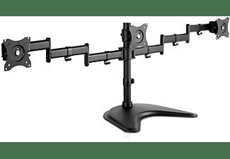 V7 Tischständer mit Dreifach-Schwenkfunktion, bis 27 Zoll, schwarz (DS1FST-1E)