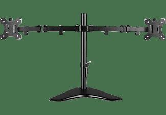 V7 Dual-Desktop-Monitorständer, bis 32 Zoll, schwarz (DS2FSD-2E)
