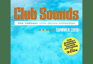VARIOUS - Club Sounds Summer 2019  - (CD)