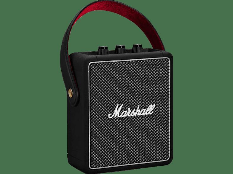 MARSHALL Stockwell II Bluetooth Lautsprecher, Schwarz, Wasserfest