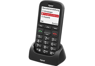 TIPTEL Ergophone 6380 Seniorenhandy, Schwarz