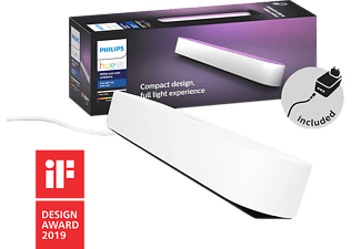 PHILIPS HUE Lampe d'ambiance Hue Play Pack x1 Blanc (7820131P7)