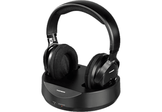 THOMSON WHP3001BK - Casque sans fil avec station de charge (Over-ear, Noir)