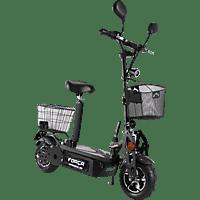 FORCA SPORT 5002348 REVOLUZZER CITYSPEEDSTER 45 KM/H MIT KORB E-Roller (6,5 Zoll, Schwarz)