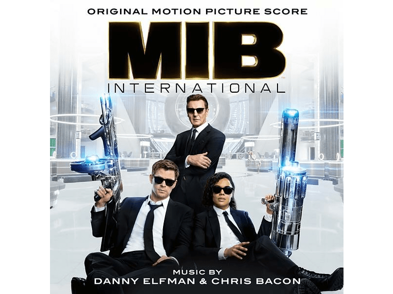 Danny Elfman & Chris Bacon - Men in Black: International/OST Score [CD]