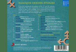 Lautten Compagney, Vivica Genaux, Lawrence Zazzo - Gender Stories  - (CD)