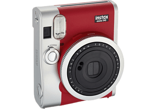 FUJIFILM instax mini 90 Neo Sofortbildkamera, Rot