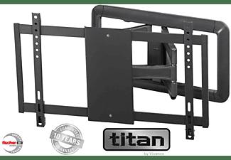 VIVANCO TV Wandhalterung voll beweglich, neig-und schwenk., bis 216 cm /85 Zoll, VESA 600, max 45 kg