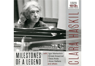 Clara Haskil - Milesotnes Of A Legend Clara Haskil: 20 Original Album CD