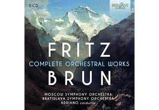 Moscow Symphony Orchestra & Bratislava Symphony Orchestra - Fritz Brun: Complete Orchestra Works CD
