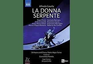 Pretti/Grimaldi/Chiuri/Noseda/+ - La donna serpente  - (Blu-ray)