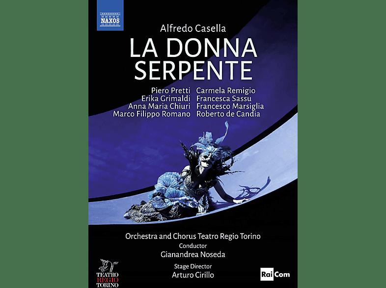 Pretti/Grimaldi/Chiuri/Noseda/+ - La donna serpente [Blu-ray]