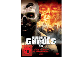 Horrornacht der Ghouls Box DVD