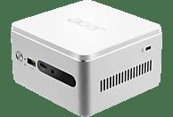 ACER Revo Cube (RN76), Mini PC, Core™ i3 Prozessor, 8 GB RAM, 128 GB SSD, 1 TB HDD, Intel® HD-Grafik 620, Silber/Weiß