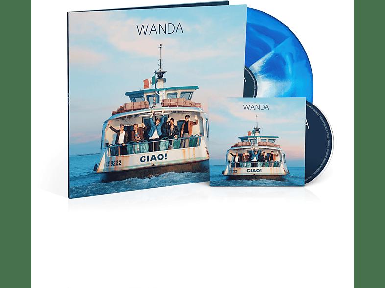 Wanda - Ciao! (Limited farbige 180g Vinyl inklusive Deluxe CD) [LP + Bonus-CD]