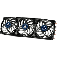 ARCTIC Accelero Xtreme IV Grafikkartenkühler, Schwarz