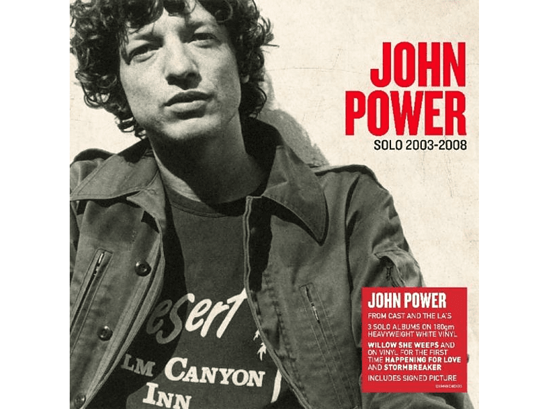 John Power - Solo 2003-2008 [Vinyl]
