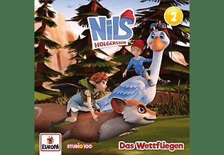 Nils Holgersson - 02/Das Wettfliegen (CGI)  - (CD)