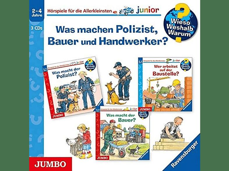 Erne,Andrea/Mennen,Patricia - Was Machen Polizist,Bauer Und Handwerker? Folge - (CD)
