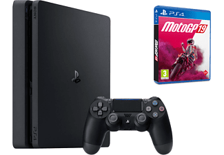 Consola - PS4 Slim de 1 TB + Moto GP19