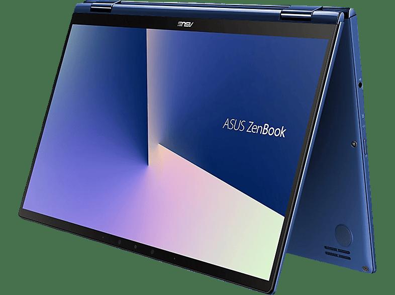 ASUS ZenBook Flip 13 (UX362FA-EL231T), Notebook mit 13.3 Zoll Display, Core™ i7 Prozessor, 8 GB RAM, 256 GB SSD, Intel® UHD-Grafik 620, Royal Blue