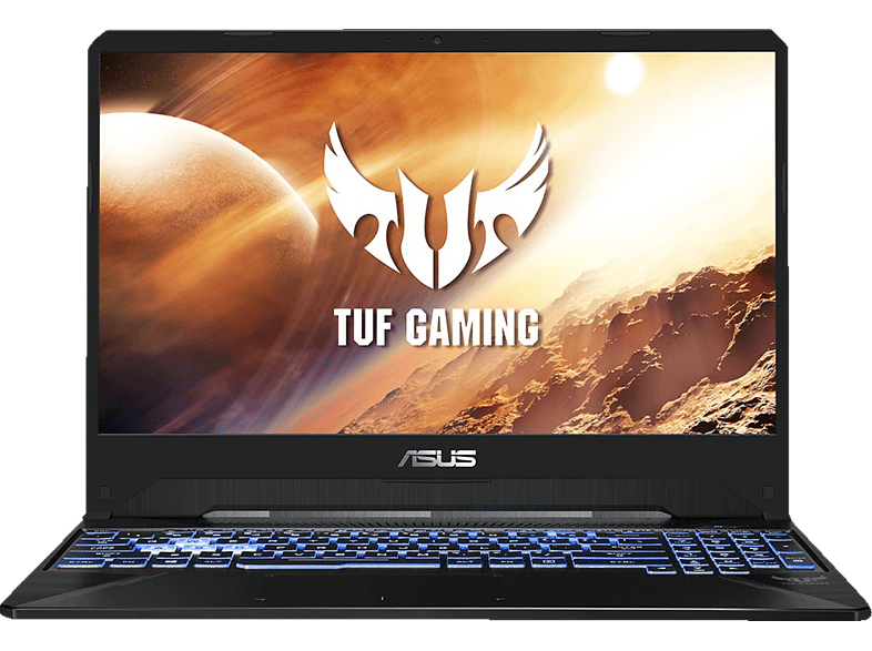 ASUS TUF Gaming FX505 (FX505DU-BQ110T), Gaming Notebook mit 15.6 Zoll Display, Ryzen™ 7 Prozessor, 16 GB RAM, 512 GB SSD, GeForce® GTX 1660 Ti, Stealth Black