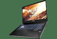 ASUS TUF Gaming FX705 (FX705DU-AU025T), Gaming Notebook mit 17.3 Zoll Display, Ryzen™ 7 Prozessor, 8 GB RAM, 512 GB SSD, GeForce® GTX 1660 Ti, Stealth Black