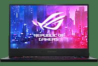 ASUS ROG Zephyrus S (GX502GW-AZ054R), Gaming Notebook mit 15.6 Zoll Display, Core™ i7 Prozessor, 32 GB RAM, 1 TB SSD, GeForce® RTX™ 2070, Black Metal
