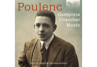 Matteo Fossi - Poulenc: Complete Chamber Music CD