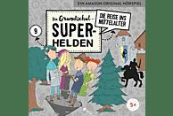 Die Grundschul-superhelden - 09: Die Reise Ins Mittelalter - (CD)