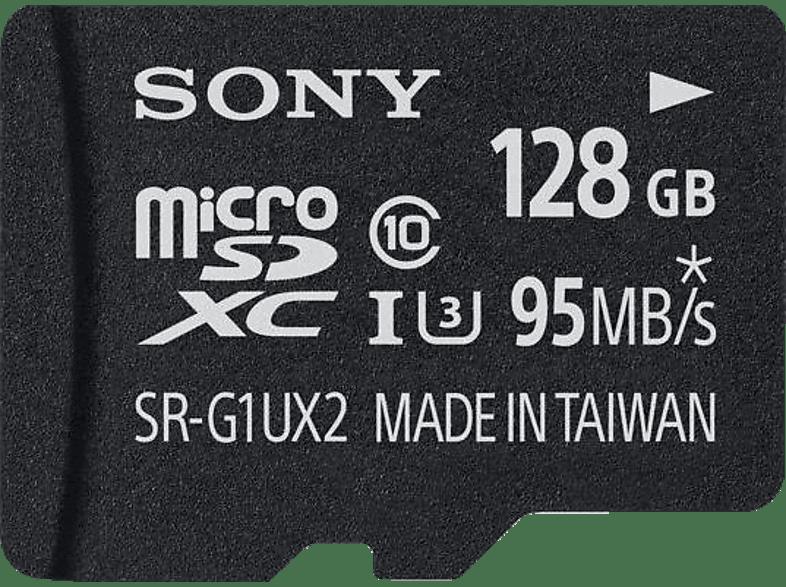 SONY microSDXC Expert 128GB Class 10 UHS-I U3 inkl Adapter, Micro-SDXC Speicherkarte, 128 GB, 95 MB/s