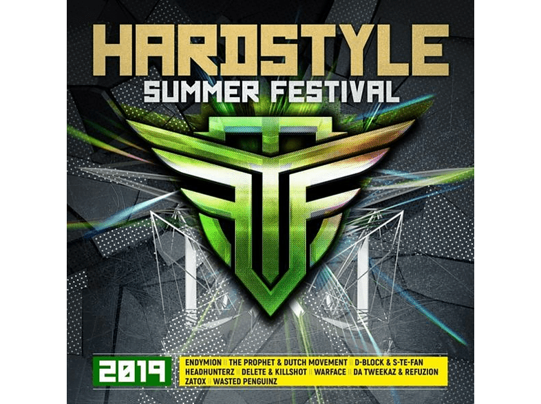 VARIOUS - Hardstyle Summer Festival 2019 [CD]