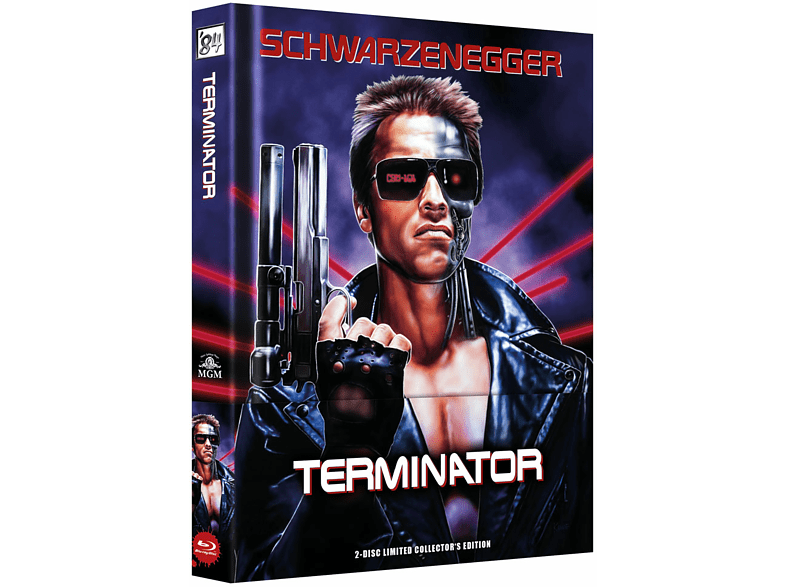 Terminator - Mediabook wattiert (2 Discs) [Blu-ray + DVD]