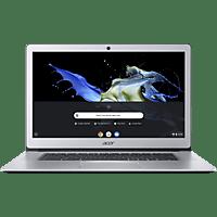 ACER 15 (CB515-1HT-P58C), Chromebook mit 15.6 Zoll Display, Pentium® Prozessor, 8 GB RAM, 64 GB eMMC, Intel® HD-Grafik 505, Silber