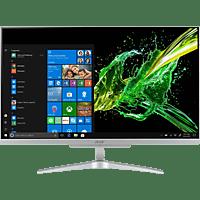 ACER Aspire C24-865, All-in-One PC mit 23.8 Zoll Display, Core™ i3 Prozessor, 8 GB RAM, 256 GB SSD, 1 TB HDD, Intel® UHD-Grafik 620, Silber