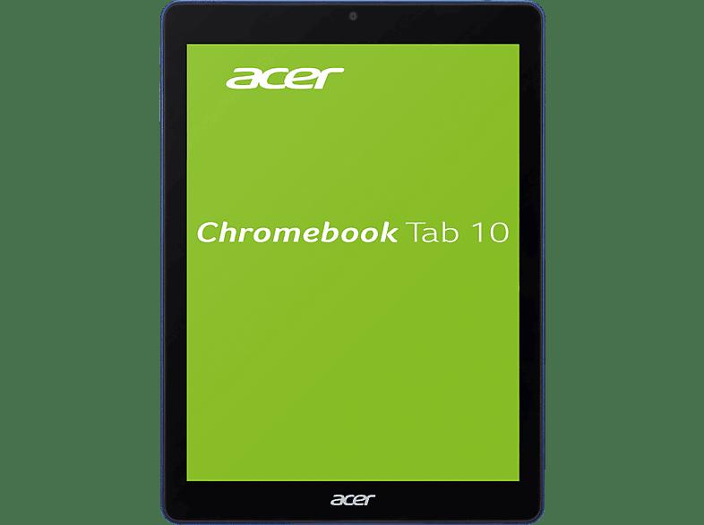 ACER Tab 10 (D651N-K68N), Chromebook mit 9.7 Zoll Display, RK3399 Prozessor, 4 GB RAM, 32 GB eMMC, OP1 Prozessor Graphics, Blau