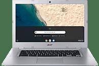 ACER 15 (CB315-2H-4451), Chromebook mit 15.6 Zoll Display, A4 Prozessor, 4 GB RAM, 64 GB eMMC, Radeon™ R4, Silber