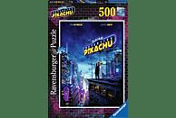 RAVENSBURGER Pokémon Meisterdetektiv Pikachu - 500 Teile  Puzzle, Mehrfarbig