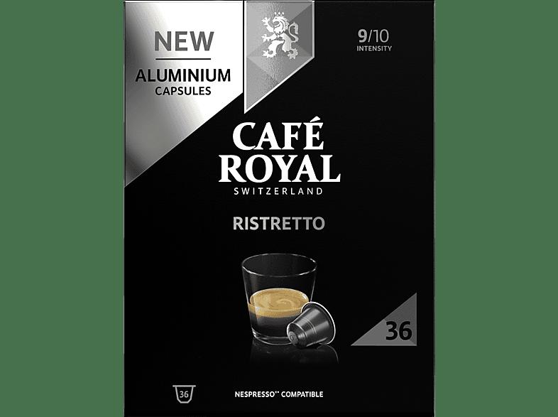 CAFE ROYAL Ristretto Alu Kaffeekapseln (Nespresso)