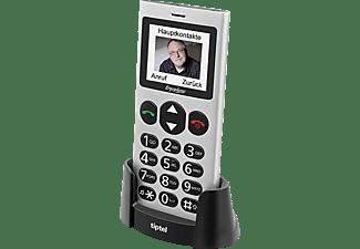 TIPTEL Ergophone 6264 Seniorenhandy, Silber