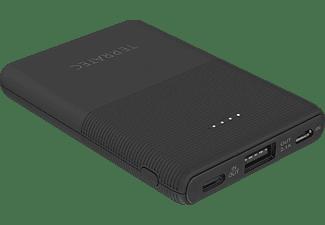 TERRATEC P50 Pocket Powerbank 5.000 mAh (18.5 Wh) Schwarz