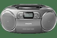 PHILIPS AZB600/12 Radiorecorder (Silber)