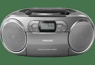 PHILIPS AZB600/12 Radiorecorder, Silber