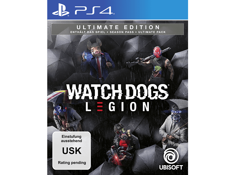 Watch Dogs: Legion (Ultimate Edition) [PlayStation 4]