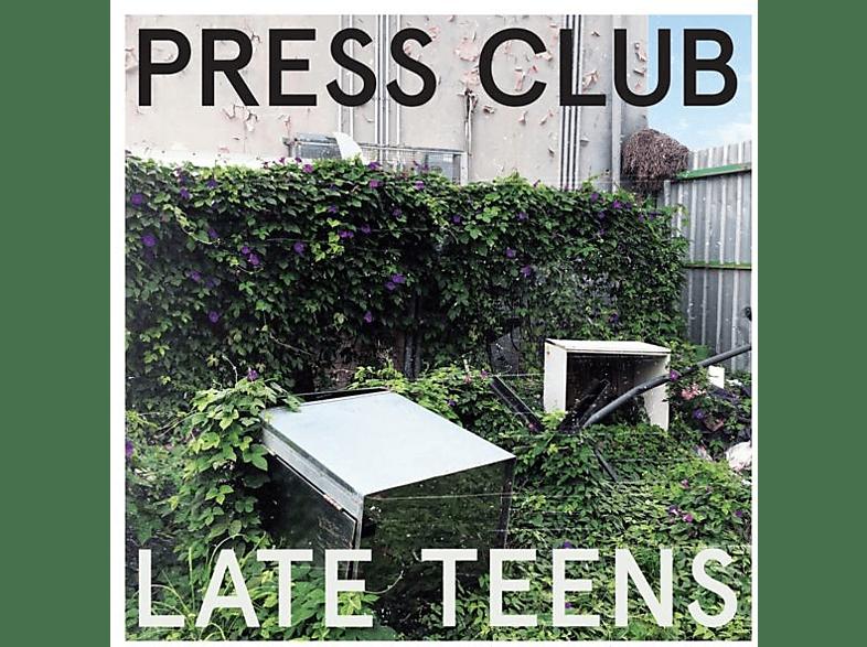 Press Club - Late Teens (Lavender Splatter LP+MP3) [Vinyl]
