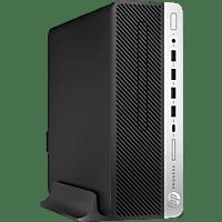 HP - B2B ProDesk 600 G4, Desktop PC, Core™ i5    Prozessor, 8 GB RAM, 256 GB SSD, Intel® UHD Grafik 630, Schwarz/Silber