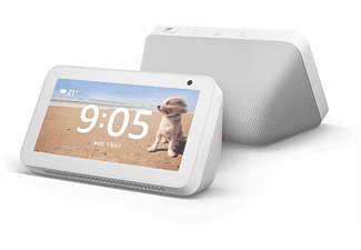 AMAZON Echo Show 5 – kompaktes Smart Display mit Alexa, weiß