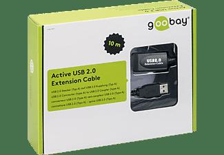GOOBAY 95119, USB Verlängerung, 10 m