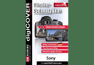 S+M Digicover Hybrid, Displayschutzglas, Transparent, passend für SONY W830