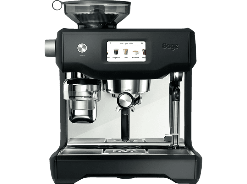 SAGE SES990BTR4EEU1 the Oracle Touch Espressomaschine Matt Schwarz